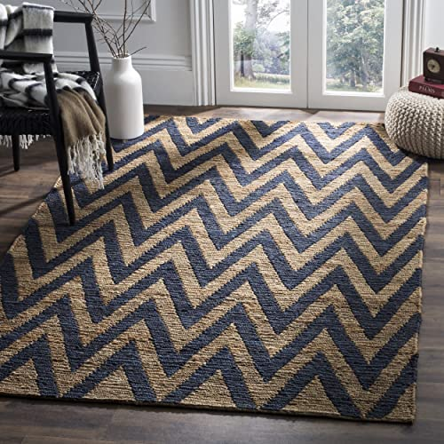 Well Woven Metro Shapes Light Blue Beige Modern Geometric Boxes Lines Pattern 7 10 x 9 10 Area Rug Soft Shed Free Easy to Clean Stain Resistant