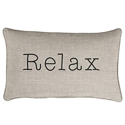 Mozaic Company AMZ239021SP Relax Indoor/Outdoor Pillow, Cast Silver : Garden & Outdoor