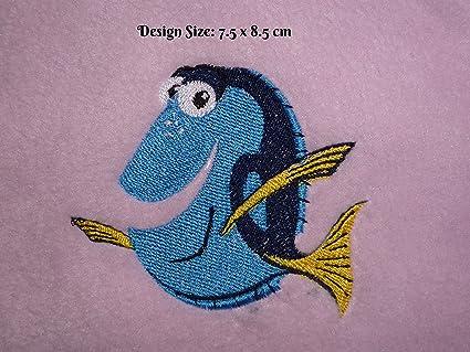 Dory – Buscando a Nemo diseño (319) – bordado personalizado toalla de baño de