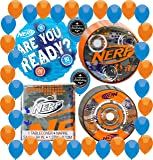 Nerf Party Supplies Decorations Birthday Pack