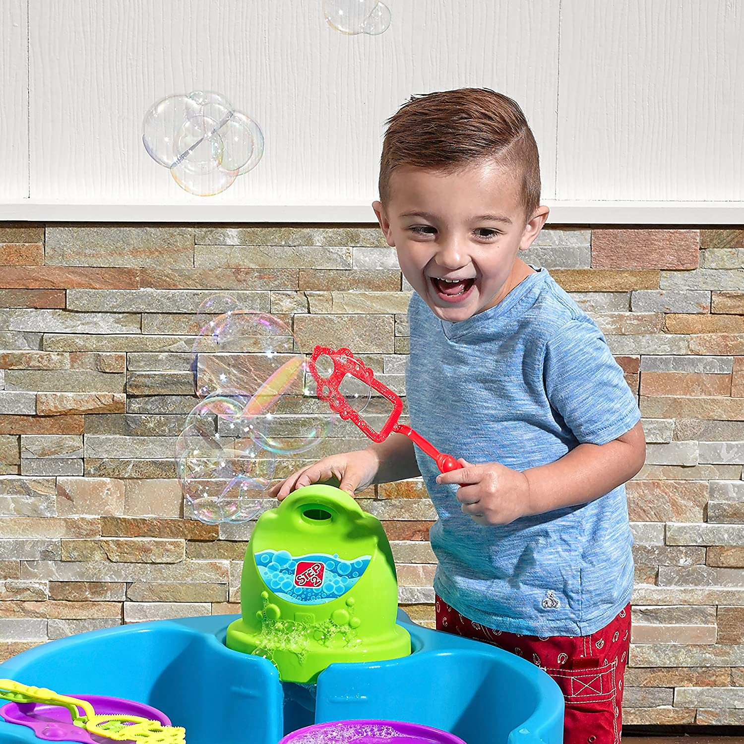 Amazon Step2 Big Bubble Splash Water Table Toys Games