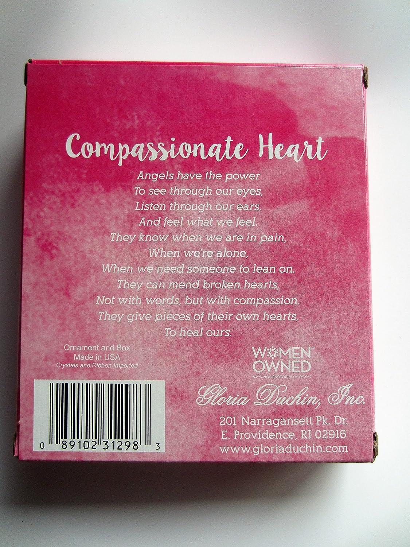 Gloria Duchin Angel Christmas Ornaments Compassionate Heart