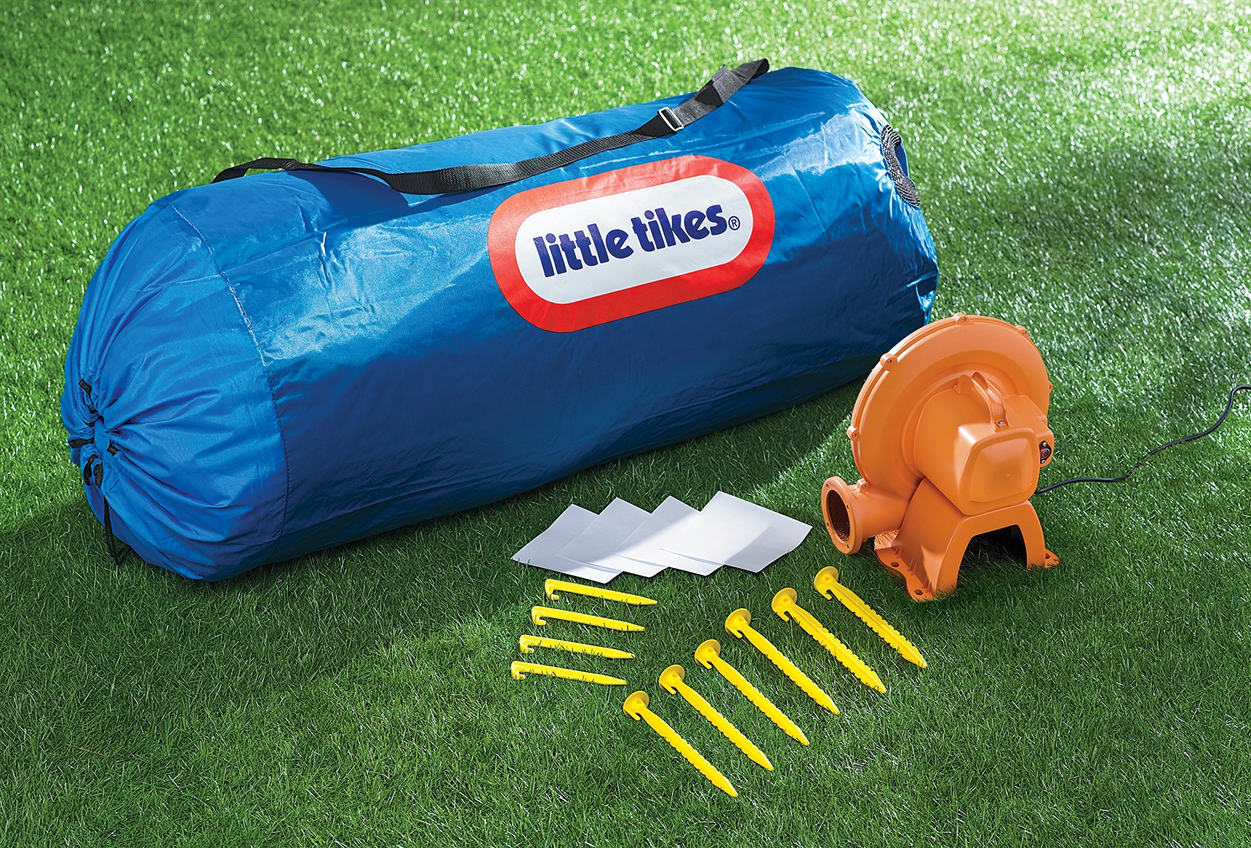 Little Tikes Inflatable Jump 'n Slide Bounce House w/heavy duty blower by Little Tikes (Image #9)