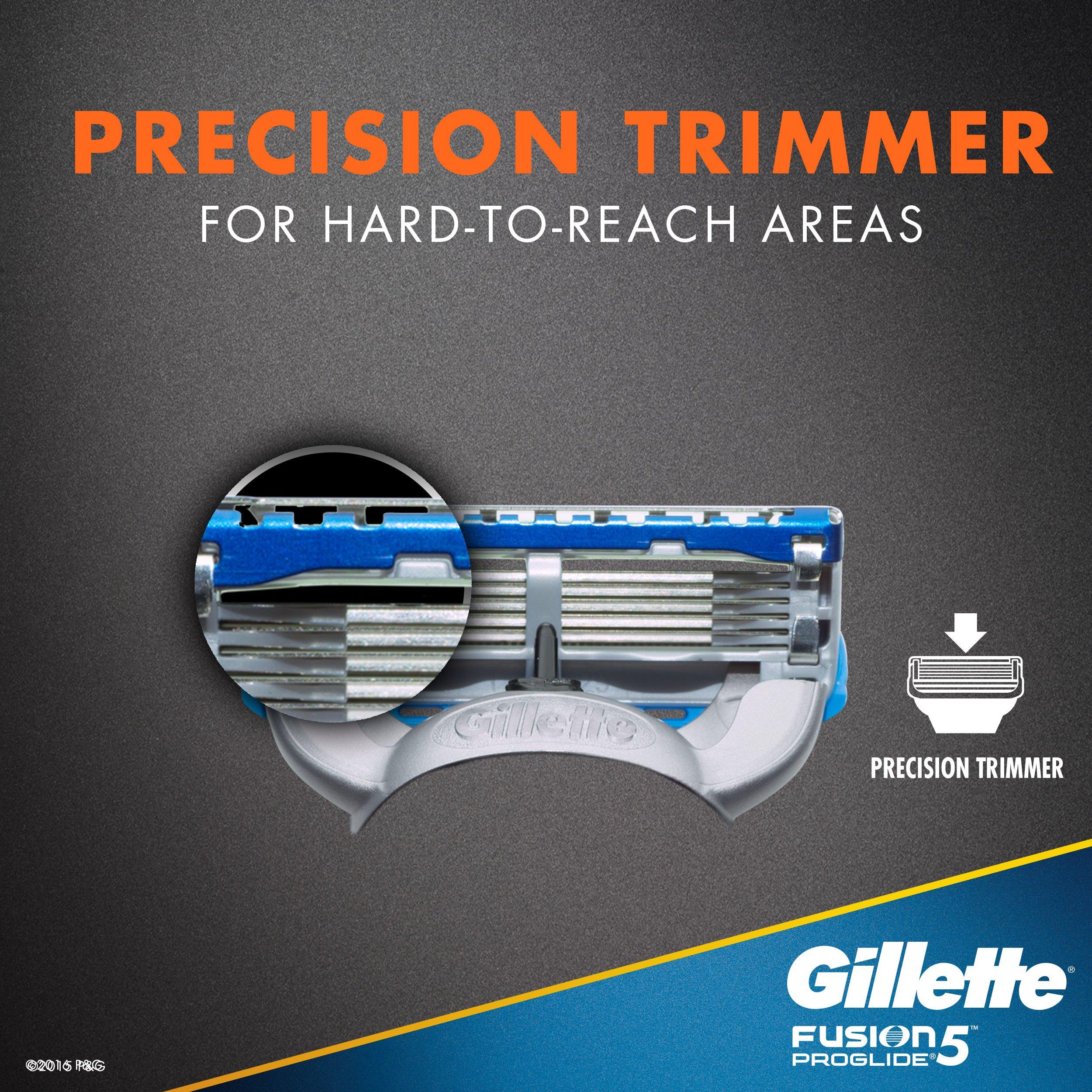 Gillette Fusion5 ProGlide Men's Razor Blades, 12 Blade Refills by Gillette (Image #5)