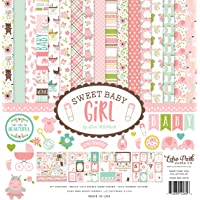 Echo Park Paper Company Sweet Baby Girl Collection Kit