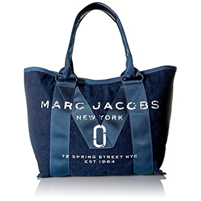 Marc Jacobs Women's New Logo Tote Denim Small Tote