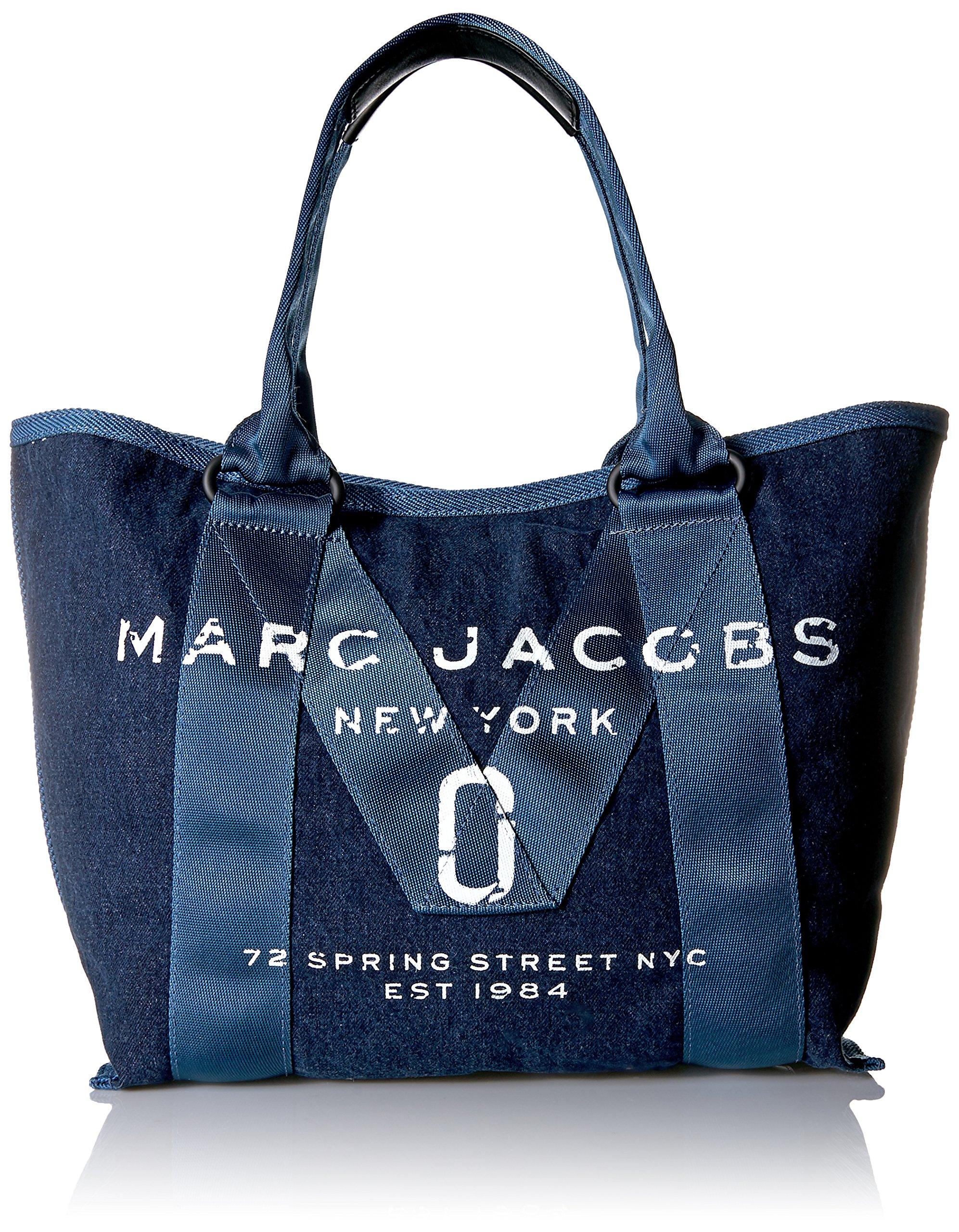 Marc Jacobs Women's New Logo Small Tote, Denim
