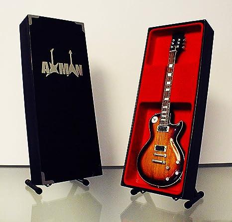 Réplica de guitarra en miniatura de Slash (Guns N Roses): Amazon ...