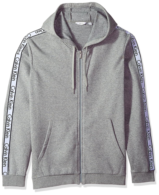 8d87387f7567 Calvin Klein Men s Fullzip Hoodie with Logo Elastic Tape at Amazon Men s  Clothing store