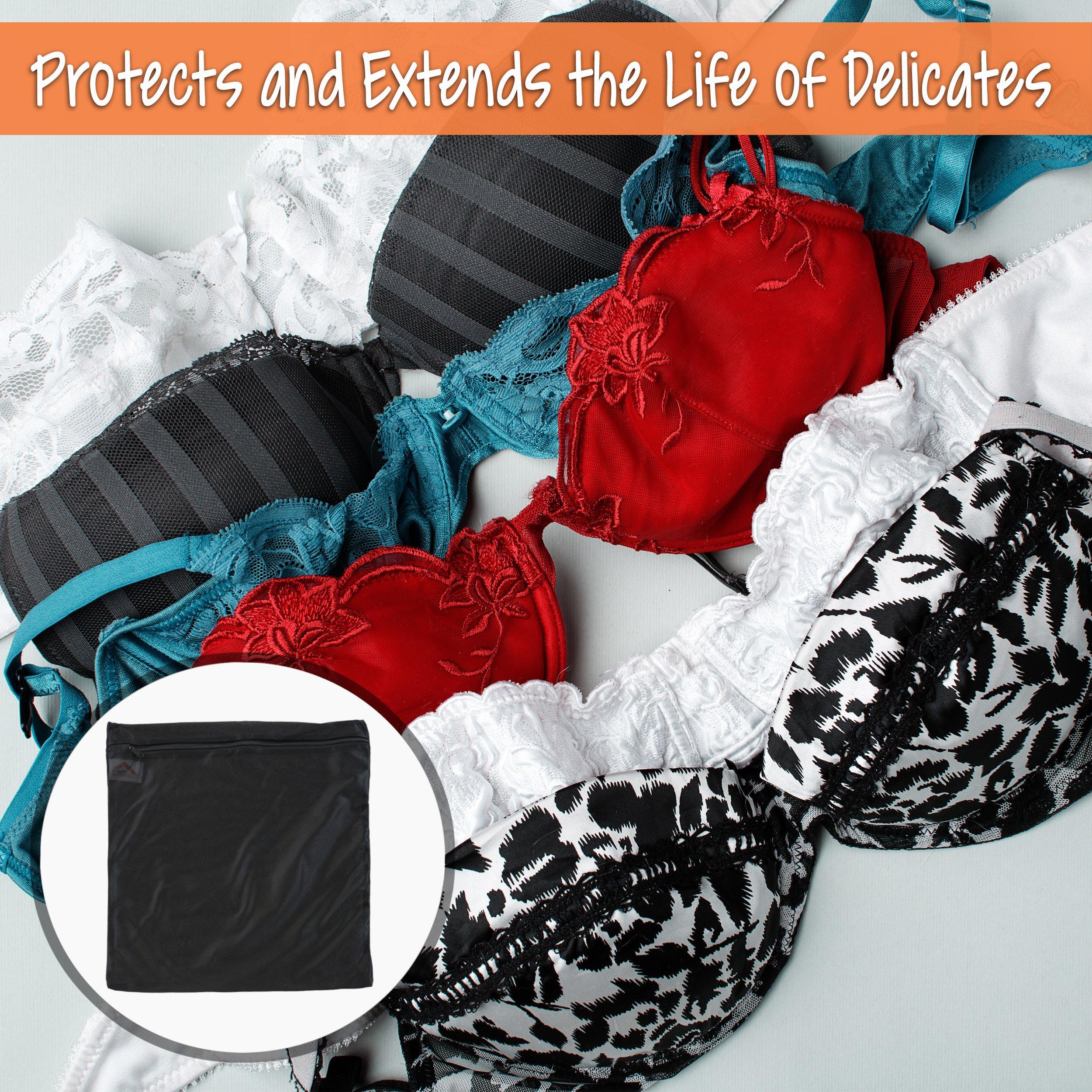 InsideSmarts Delicates Laundry Wash Bags, Set of 4 (2 Medium & 2 Large) by InsideSmarts (Image #6)