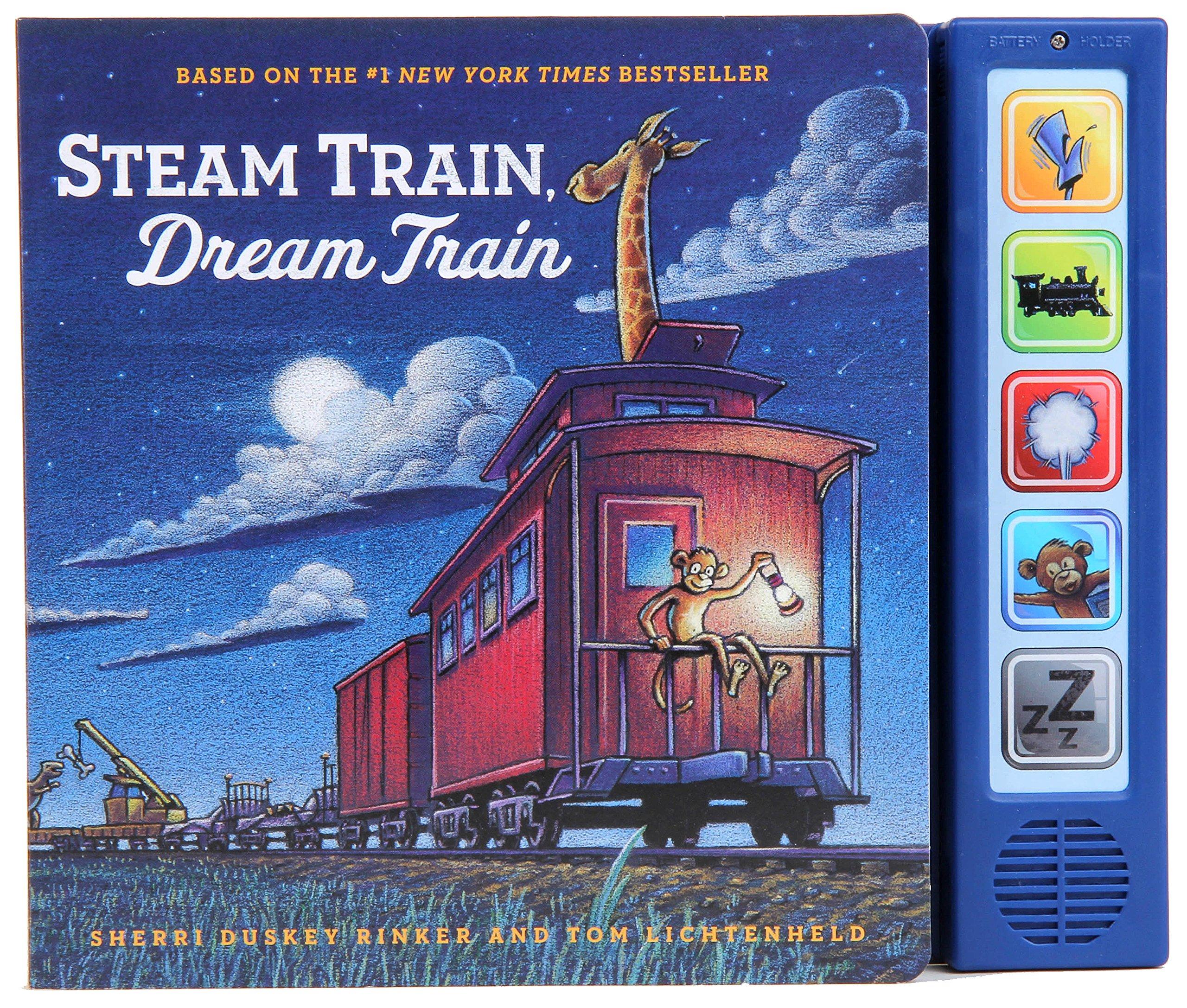 Amazon com: Steam Train, Dream Train Sound Book