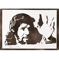 Poster Camarón de la Isla Grafiti Hecho a Mano - Handmade Street Art - Artwork