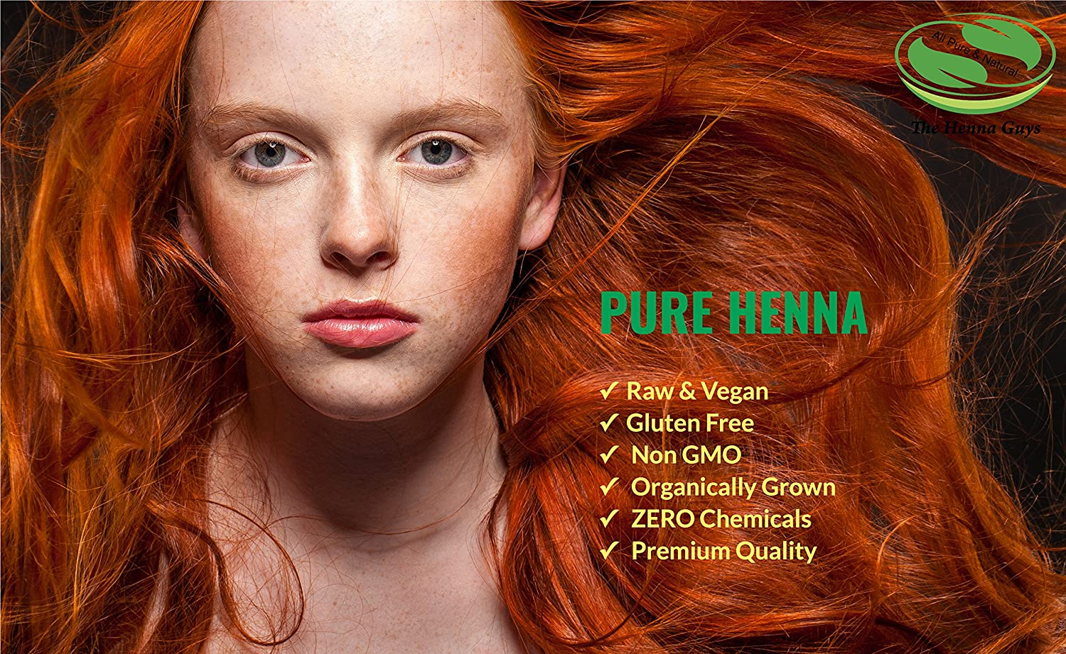 100 Pure Natural Henna Powder For Hair Dye Color 300 Grams
