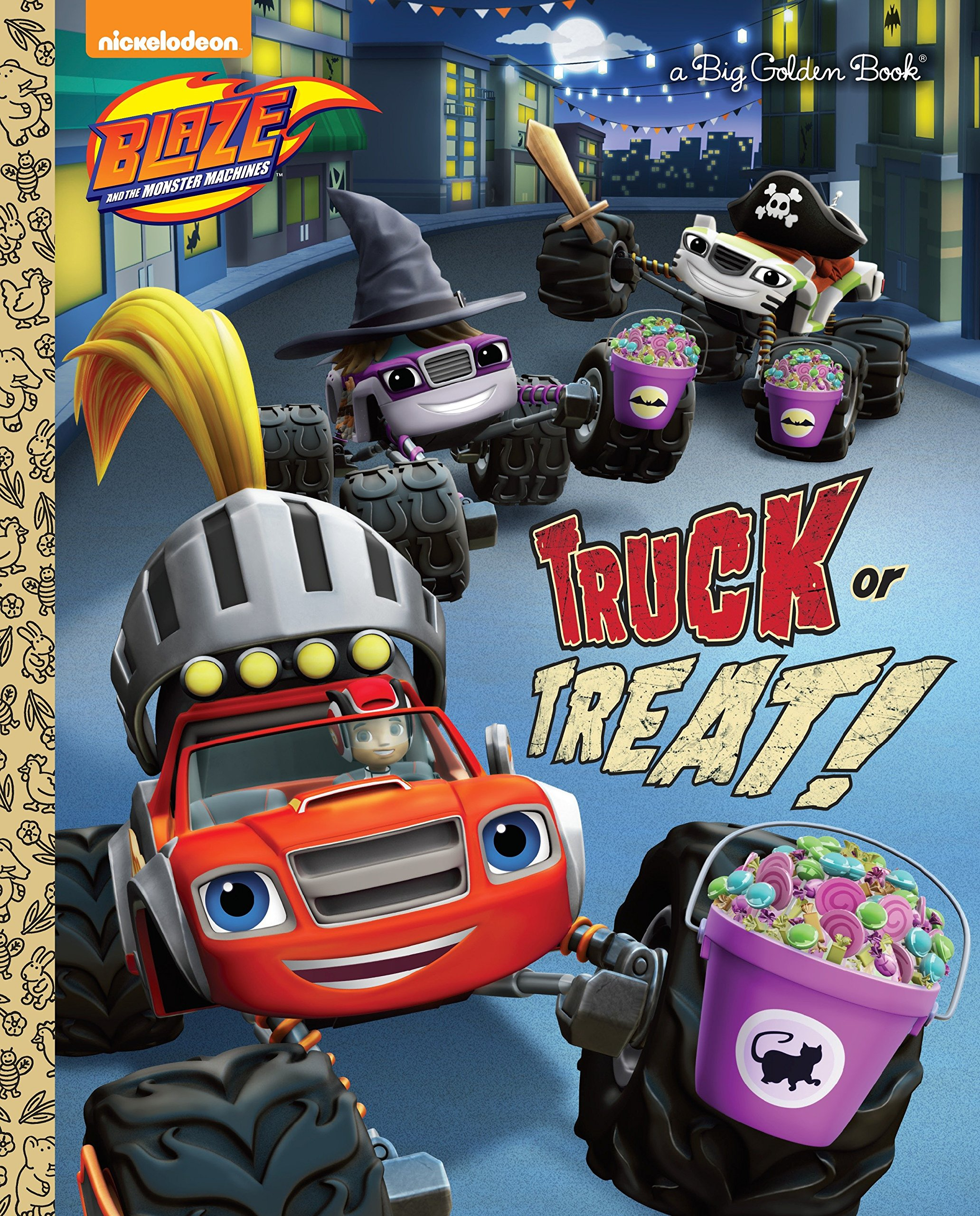 Download Truck or Treat! (Blaze and the Monster Machines) (Big Golden Book) PDF