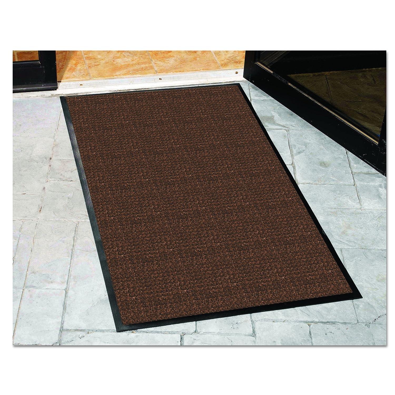 Guardian WaterGuard Indoor//Outdoor Wiper Scraper Floor Mat 3x16 Charcoal Rubber//Nylon