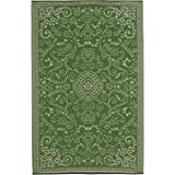 Fab Habitat Reversible Rugs | Indoor or Outdoor Use | Stain Resistant, Easy to Clean Weather Resistant Floor Mats | Murano -