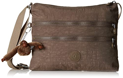 Kipling Alvar, Women's Cross-Body Bag, Beige (True Beige), 33x26x4
