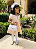 Chanel Inspired Toddler Baby Girl Purse with Gold