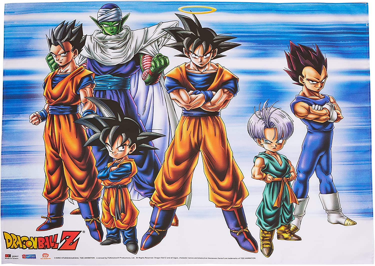 Amazon Com Great Eastern Dragon Ball Z Group Fabric Poster Toys Games