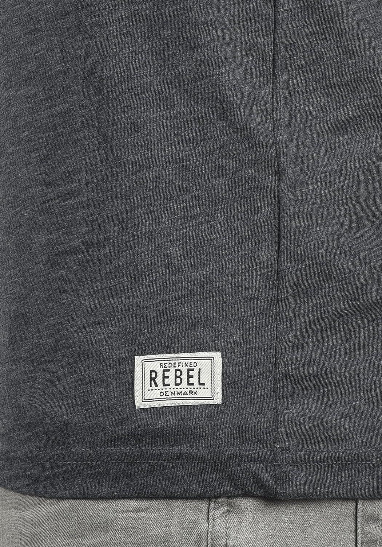 Redefined Rebel Marlow T-Shirt Maglietta Senza Manica Canotta da Uomo con Girocollo