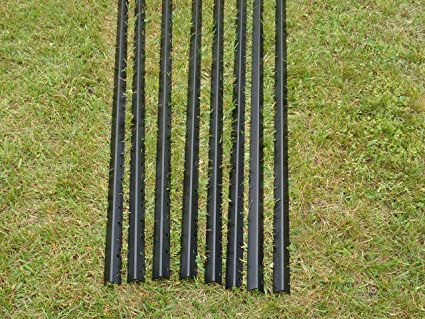 Amazoncom 9 Freedom Fence Post 8 Pack Garden Outdoor
