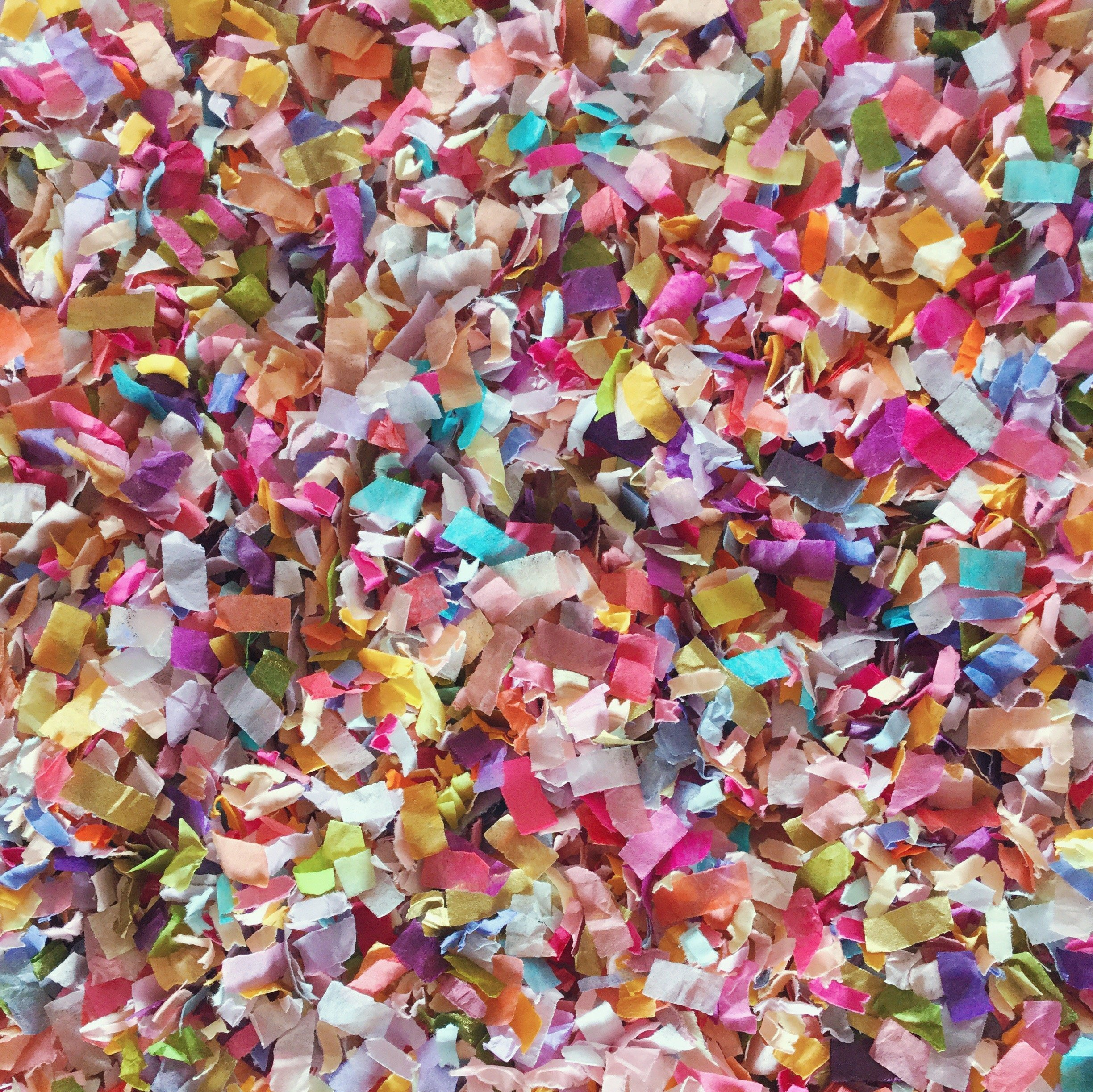 Flower Garden Confetti Mix Multi-colored Biodegradable Floral Wedding Party Decorations Decor Throwing Send Off InsideMyNest (25 Handfuls) by Inside My Nest