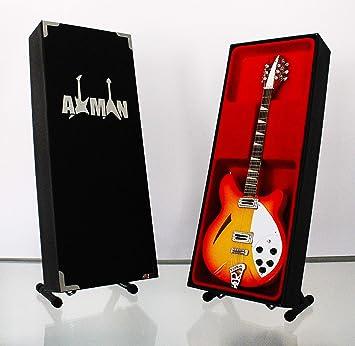 Miniatura Guitarra Replica: Tom Petty Rickenbacker de 12 por Axman – Modelo Mini Rock Memorabilia