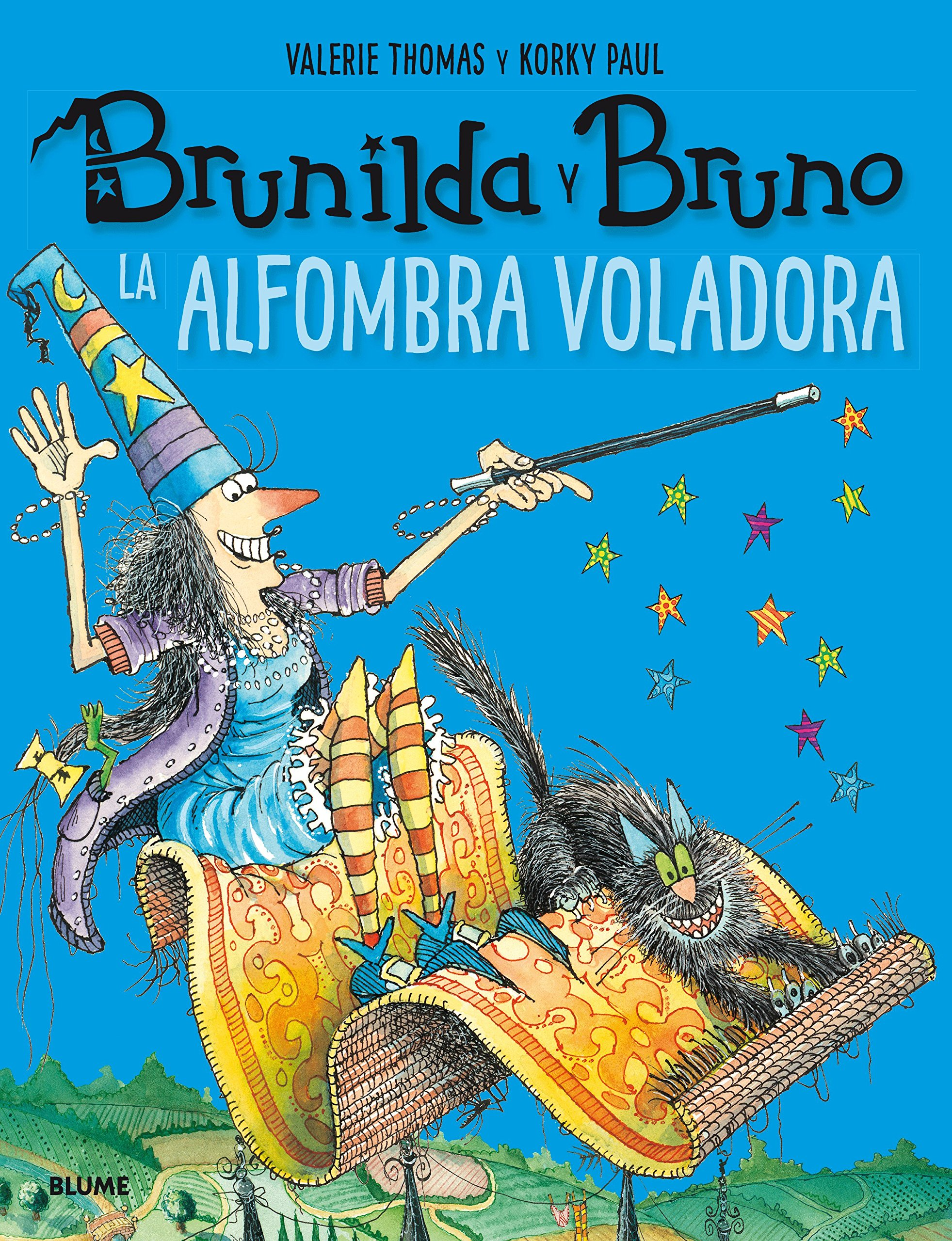 Brunilda y Bruno. La alfombra voladora: Amazon.es: Thomas, Valerie, Korky, Paul, Rodríguez Fischer, Cristina, Diéguez Diéguez, Remedios: Libros