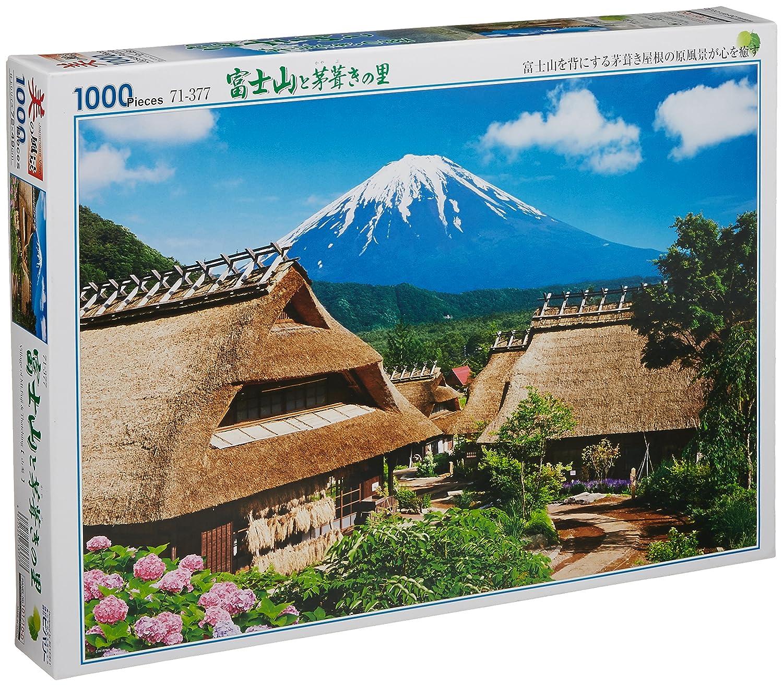 71-377 village of thatched and 1000 piece Fuji (japan import) B004U4DZN6 Klassische Puzzles Heißer Verkauf | Niedriger Preis