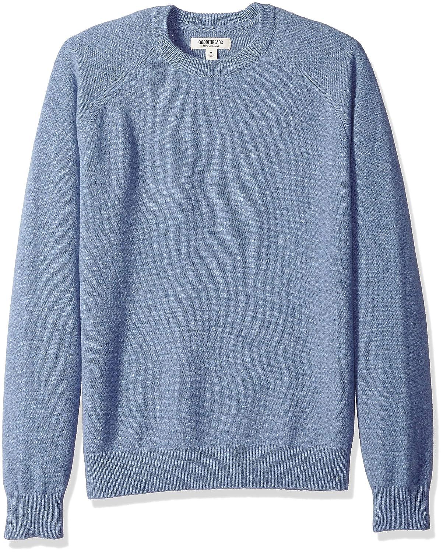 Goodthreads Men's Lambswool Crewneck Sweater MGT35015FL18