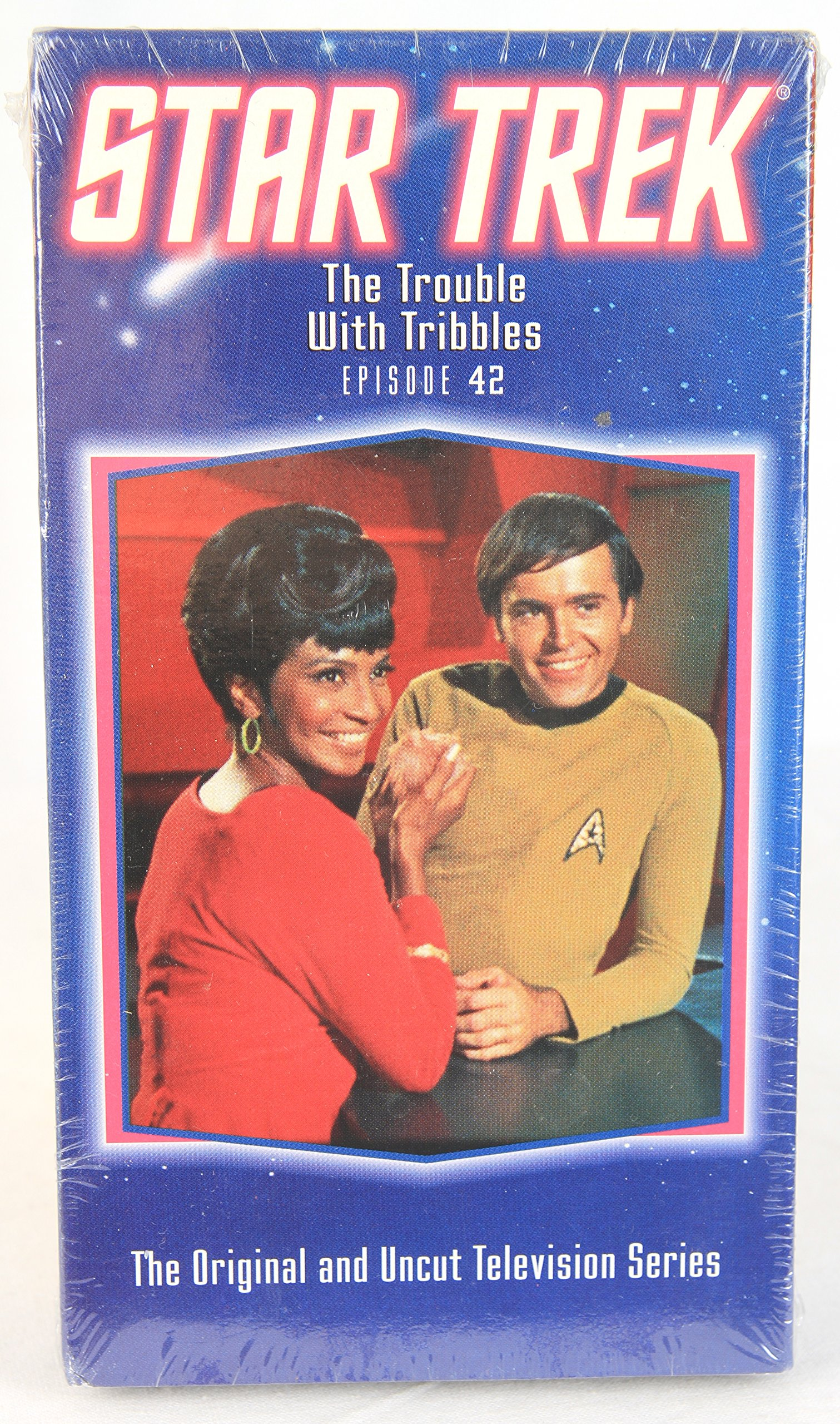 Star Trek, The Original and Uncut Television Series - Episode 42: The Trouble With Tribbles (1993 VHS)