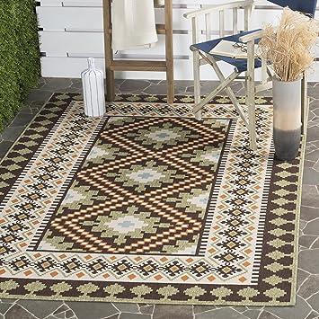 Amazon Com Safavieh Veranda Collection Ver099 0724 Indoor Outdoor