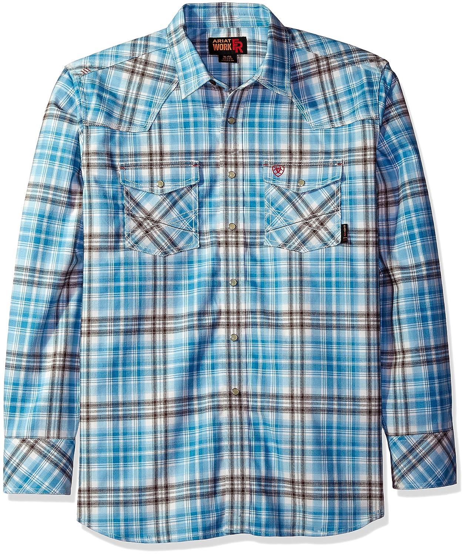 Ariat SHIRT メンズ B01H985C80 XL Blue 10019156 Blue 10019156 XL