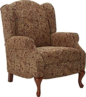 ashley furniture signature design nadior recliner chair manual reclining classic style paisley