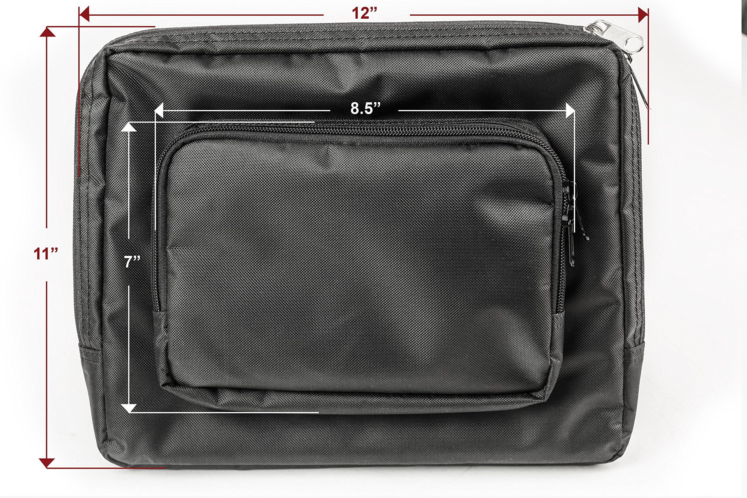 AutoExec AETote-09 Black/Grey File Tote with One Cooler and One Tablet Case by AutoExec (Image #20)