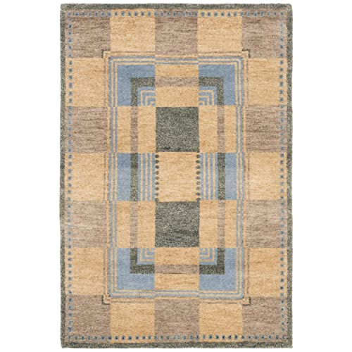 Safavieh Selaro Collection SL62B Hand-Knotted Multicolored Wool Area Rug 8 x 10