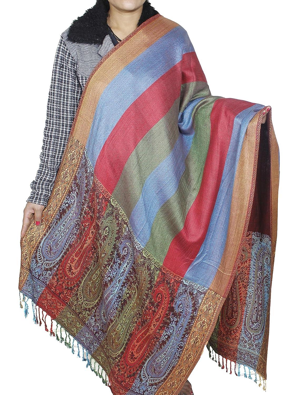 Women Girls Fashion - Turquoise Scarf Wrap Viscose Shawl Spring