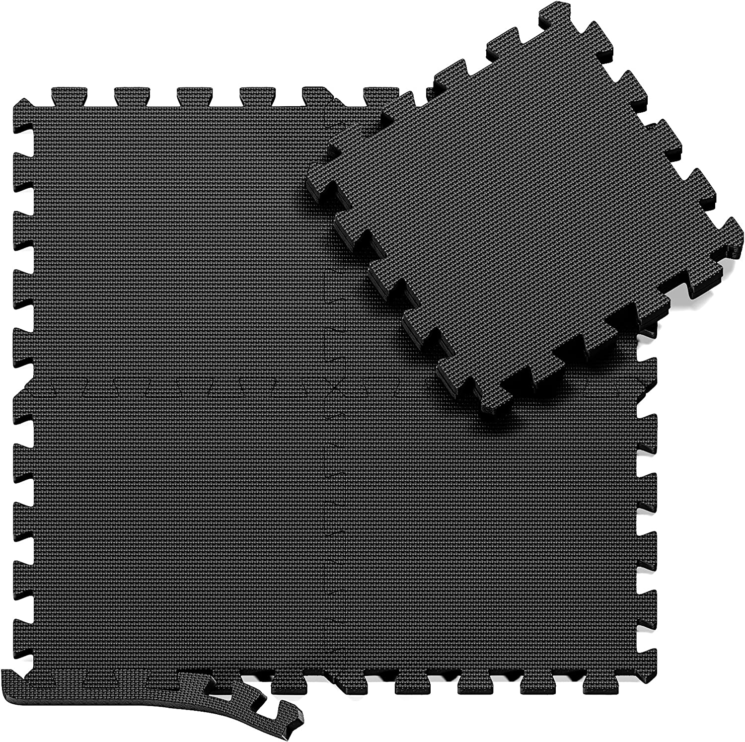 BeMaxx Interlocking Soft Foam Floor Mats