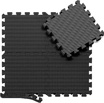 Esterilla Puzzle de Fitness y de Goma Espuma | Set de Protección ...
