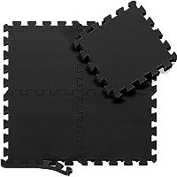 Esterilla Puzzle para Suelos de Gimnasio y Fitness | Set de Protección de Goma Espuma, Alfombrilla Protectora Expandible…