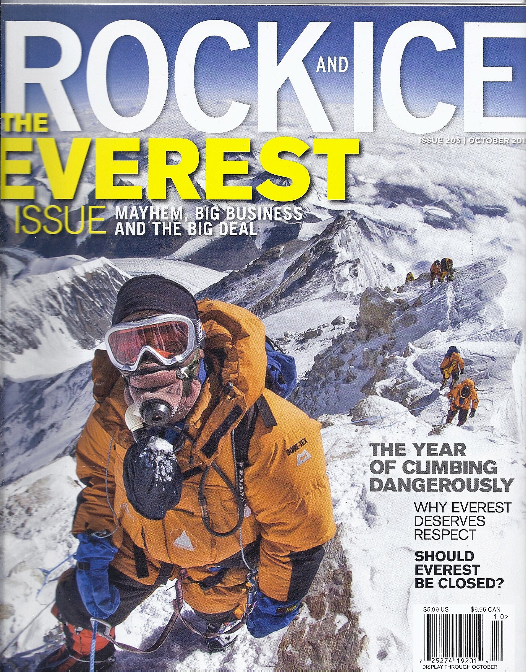 Rock and Ice Magazine (October 2012 (The Everest Issue)) pdf