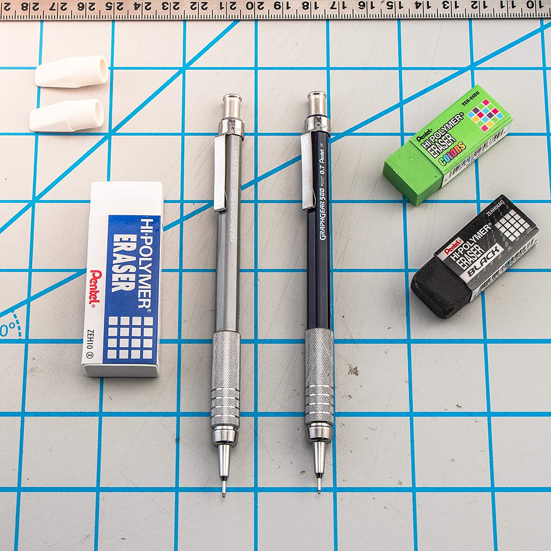 Pentel GraphGear 500 Automatic Drafting Pencil Black PG525A