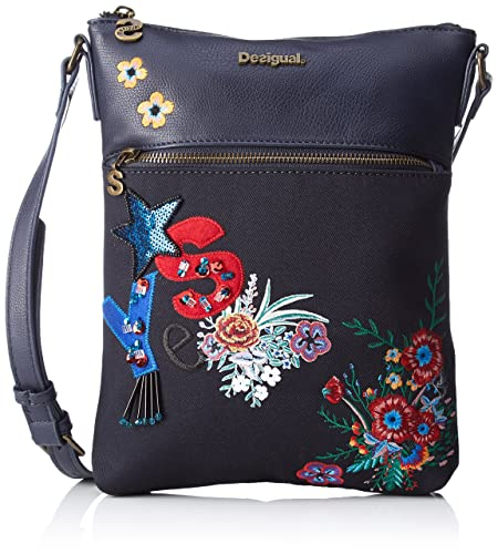 Desigual Blue Women's Bag Bols Ghana Body navy surprise Cross rrqFPw