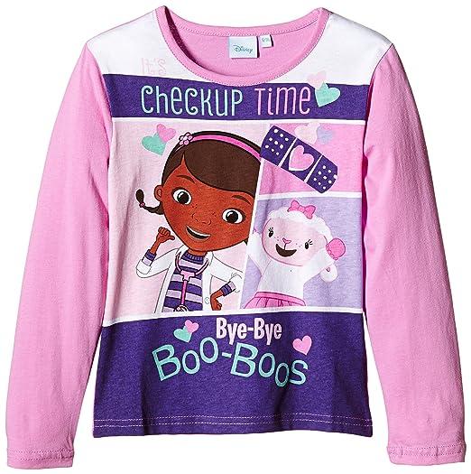 4 opinioni per Doc McStuffins LS T-SHIRT-T-shirt Bambine e ragazze, Rosa (Pink/White) 3 anni