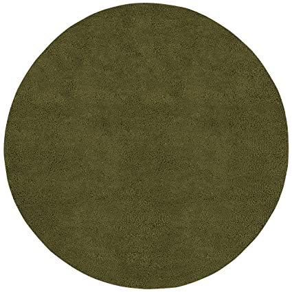 Amazoncom Overstock Belle Green 10 Ft Round Area Rug Kitchen