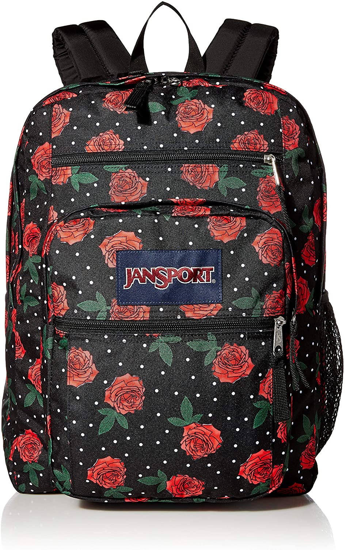 MONTOJ Antique Begonia Flowers Canvas Travel Bag Campus Backpack Unisex School Pack Daypack