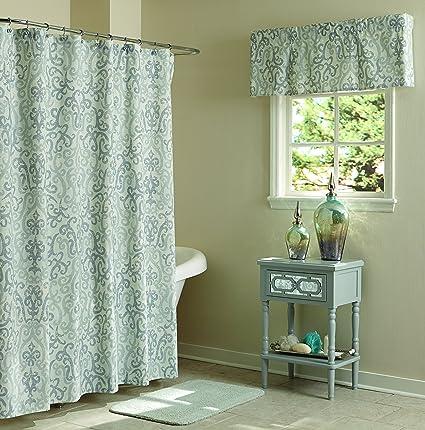 Amazon Split P Loryn Ikat Shower Curtain Home Kitchen