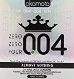Okamoto 0.04 mm Zero Zero Four Condoms 24 pack