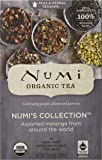 Numi Organic Tea  Variety Pack - Numi's Collection, Assorted Full Leaf Tea and Teasan, 18 Count Tea Bags