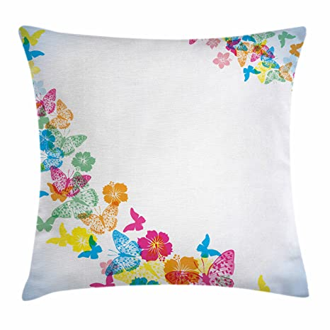 Amazon Ambesonne Luau Throw Pillow Cushion Cover Fantastic Awesome 36 Inch Square Pillow Cover
